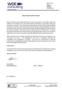 BMD002 Health & Safety Policy IssL